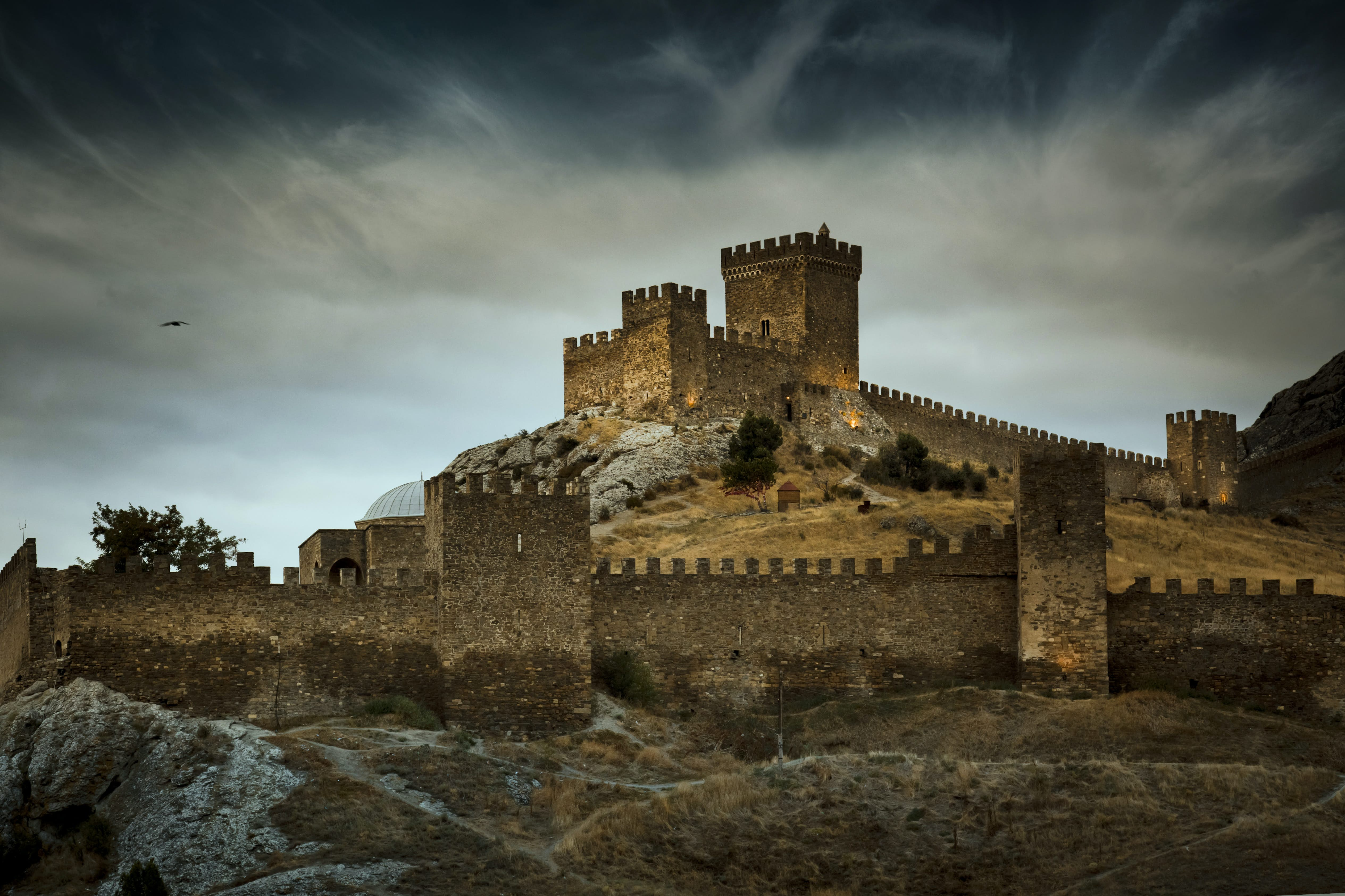 Castles were central to medieval warfare
